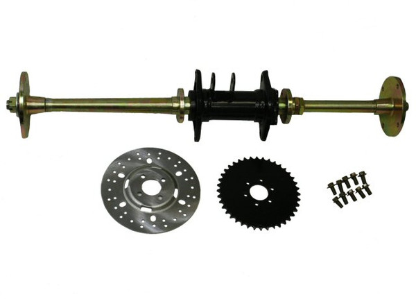 Universal Parts Rear Axle Assy Complete