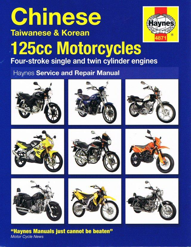 Haynes Chinese 125cc Motorcycle Manual