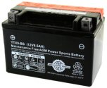 Universal Parts 12V 8.5AH Battery YTX9-BS