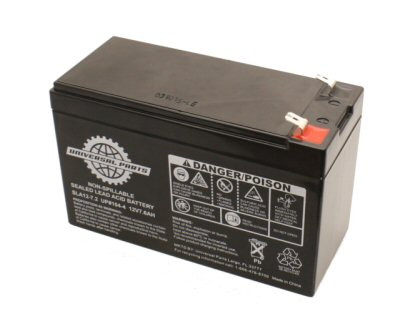 Universal Parts 12V 7AH Compact Scooter Battery