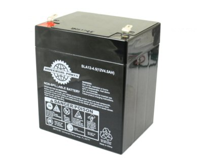 Universal Parts 12V 5AH Compact Scooter Battery