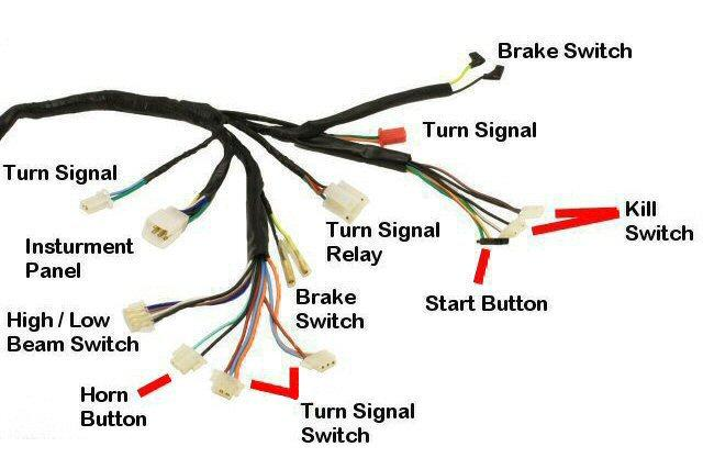 Wiring Harness Electrical Street Scooters PartsForScooters – Diamo Velux 150 Wiring Diagram