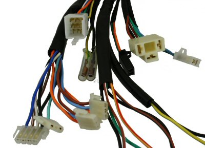 wiring harness electrical street scooters partsforscooters gy6 scooter wire harness