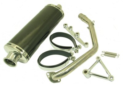YMS V8 GY6 Performance Exhaust