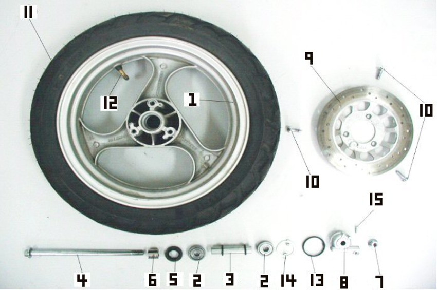 Wheel- Front