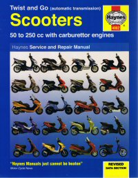 Haynes 50cc-250cc Automatic Scooter Manual