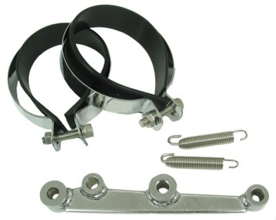 Bracket Set & Hardware for Round HP Exhausts