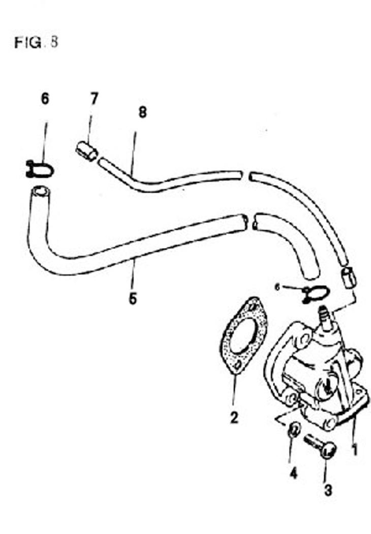 50cc Scooter Vacuum Lines Wiring Diagram And Fuse Box