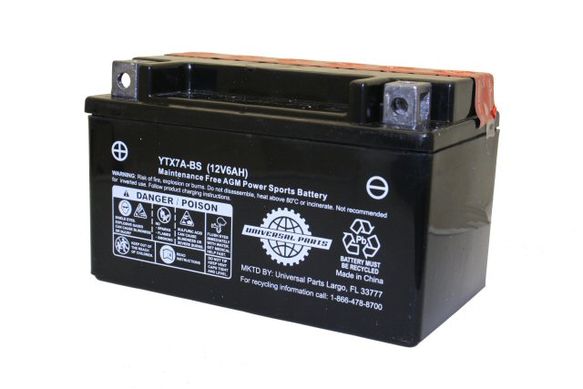 12 Volt 6 Amp Scooter Battery