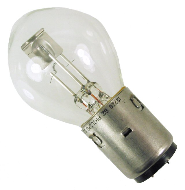 12V 35/35W BA20D Halogen Headlight Bulb