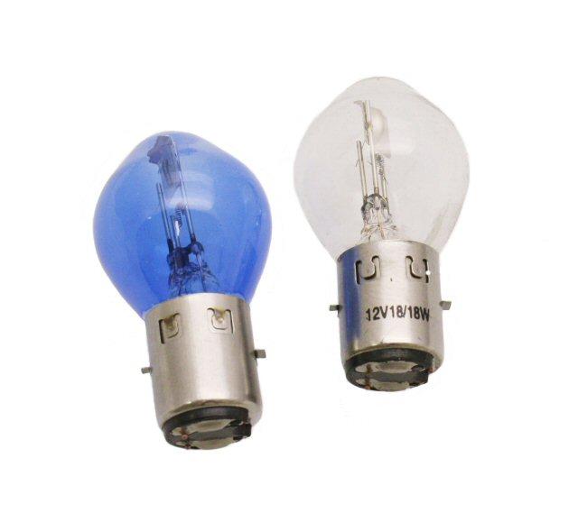 12V 18/18W BA20D Halogen Headlight Bulb
