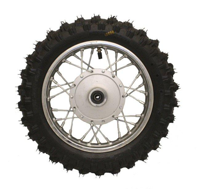 10'' Dirt Bike Front Wheel - Drum Brakes