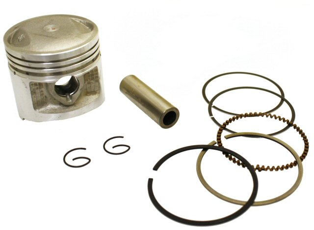 125cc 4-stroke Piston and Ring Set
