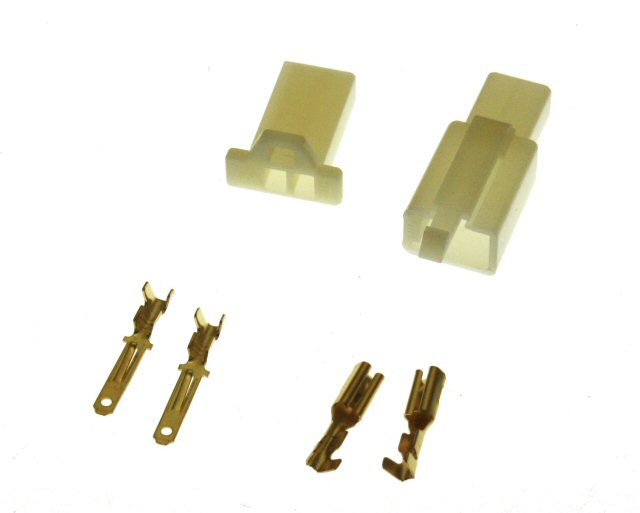 2 Pin Connector Kit - 2.8mm Pin