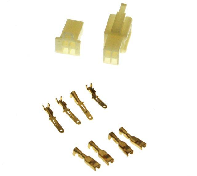 4 Pin Connector Kit - 2.8mm Pin