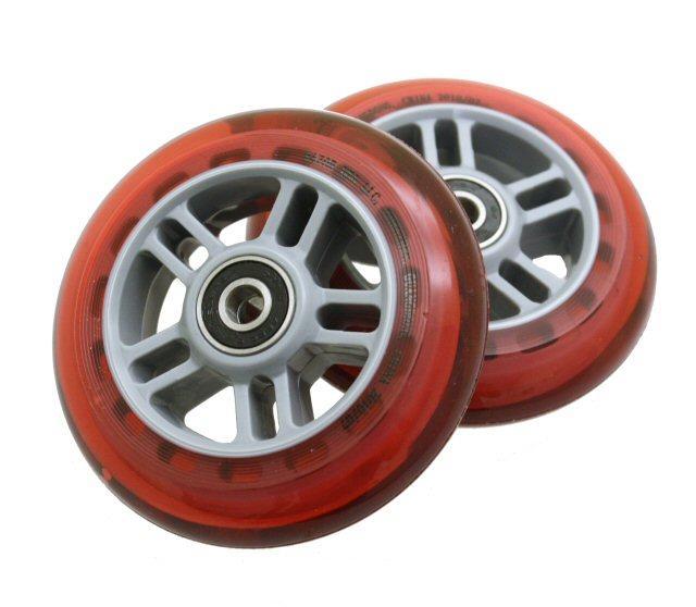 Kick Scooter Wheel Set Red