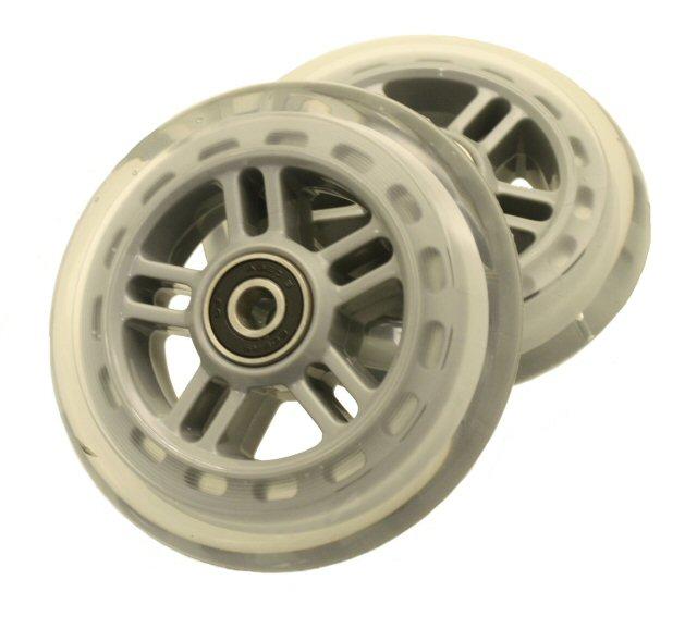 Kick Scooter Wheel Set Clear