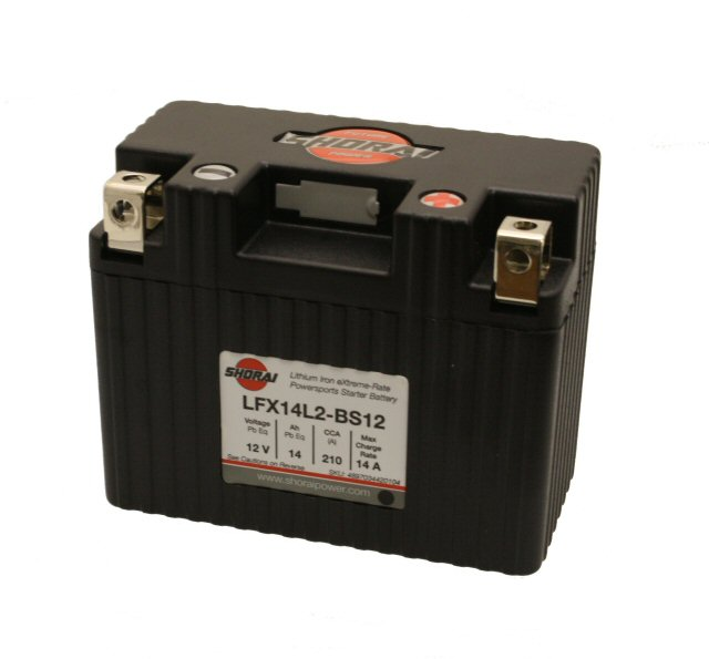 Shorai Lithium Battery 12V 14Ah