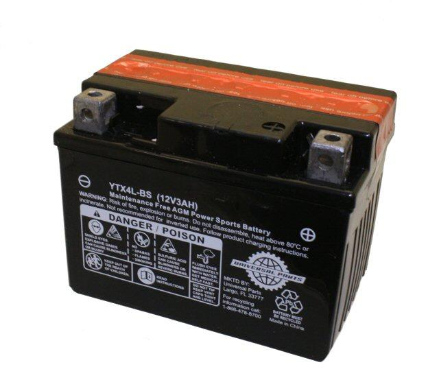 12V 3AH Battery YTX4L-BS