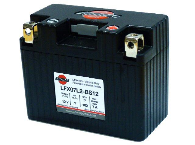 Shorai Lithium Battery 12V 7Ah