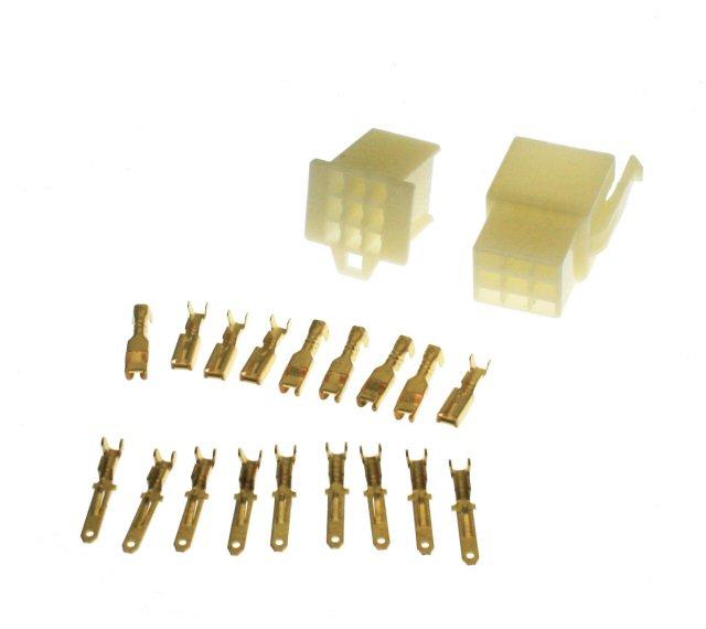 9 Pin Connector Kit - 2.8mm Pin