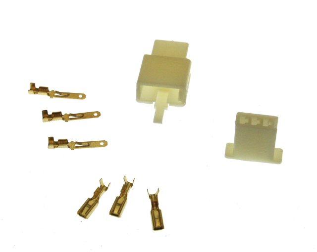 3 Pin Connector Kit - 2.8mm Pin