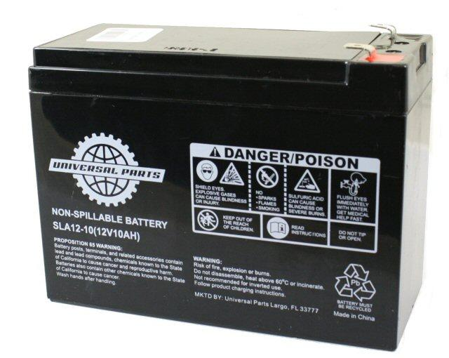 12V 10AH Battery - SLA12-10