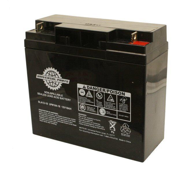 12V 18AH Battery - SLA12-18