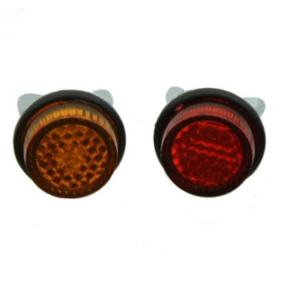 Chris Products License Plate Reflectors, Pack of 4