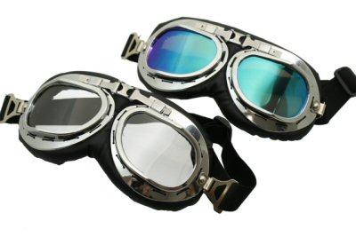 Aviator WWII Replica Scooter Goggles