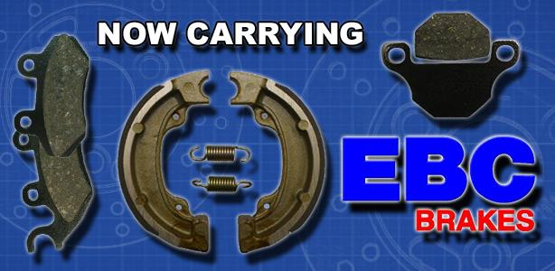 Now Carrying EBC Brakes!