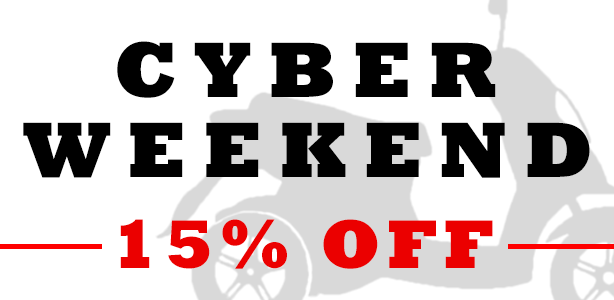 Take 15% Off Your Entire Order for Cyber Weekend!