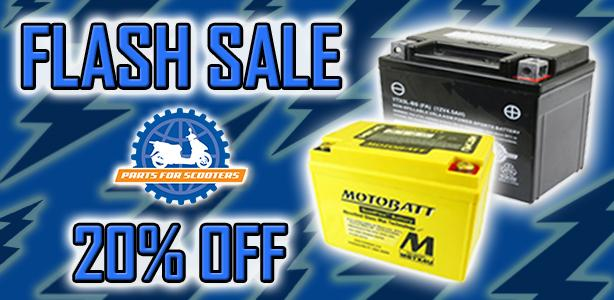20% Off Select Batteries!