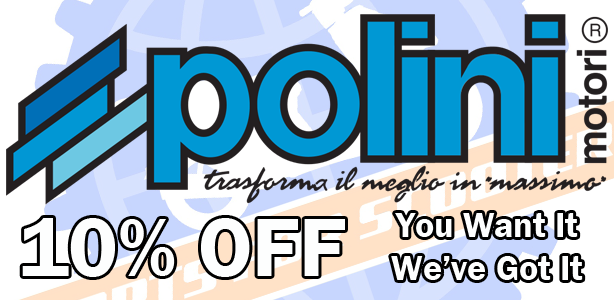 Take 10% Off Your Polini Order for January!
