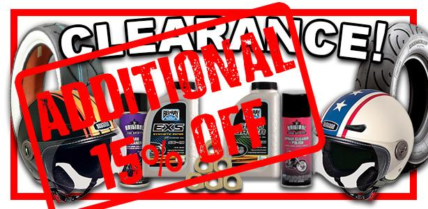 Take an Additional 15% Off Clearance Items!