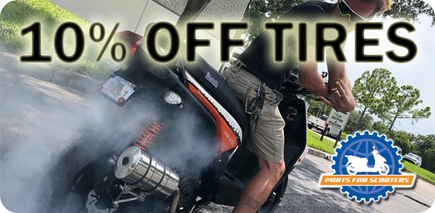 Take 10% Off of Tires & Tubes for the month of August!