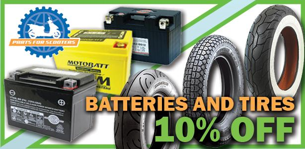 10% Off Tires & Batteries!