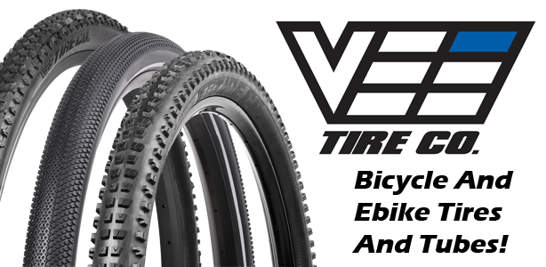 PartsForScooters offers Vee Tires & Tubes for Bicycles and E-Bikes!