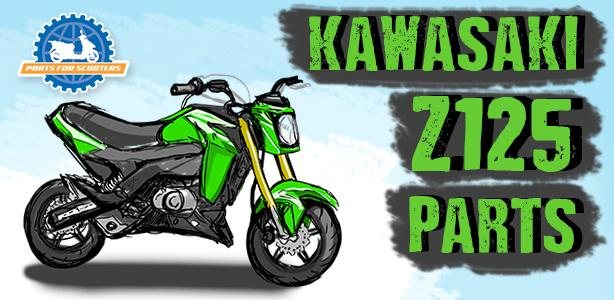 Check Out Our Z125 Performance Parts!