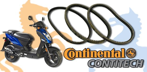 Now Carrying Continental Belts!
