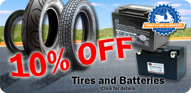 Take 10% Off Your Tire & Battery Order for February!